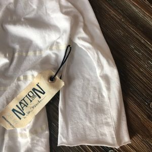 Nation LTD NWT white tee